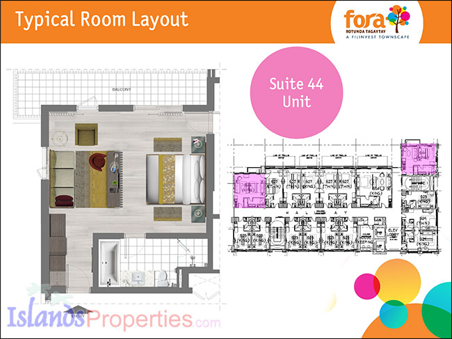 Fora Rotunda Tagaytay Condo Units For Sale Code Cd 8417