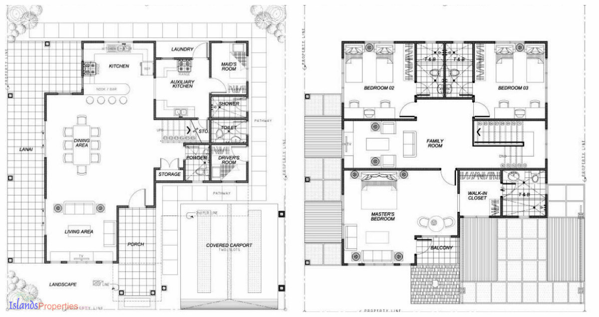Astele lombardy model house and lot for sale code rh for Maids quarters house plans