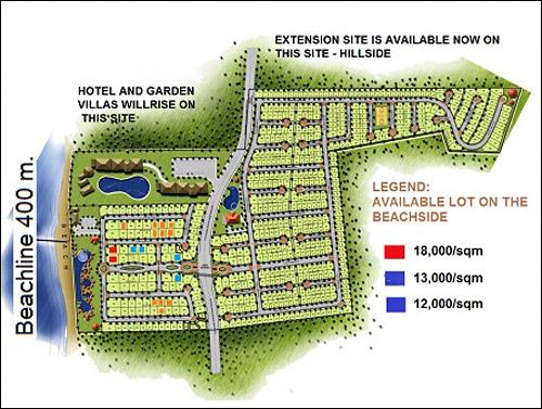 Elevation End Elevation Plan : Playa azalea code rl island garden city of samal
