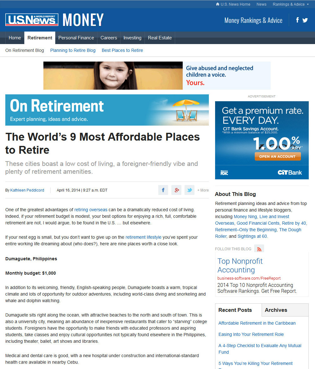 Dumaguete Tagged As One Of The World 39 S Best Places To Retire